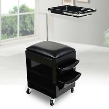 New Trolley Nail Manicure Pedicure Salon Chair Station Draws Tray Table Cart