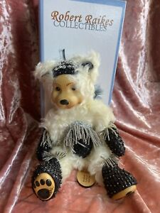 New Robert Raikes Diamond April Birthday Bear 2001 LE 250