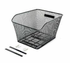VELOBICI HB-049 Wire Mesh Basket for Hybrid Flat Bar/Mountain Bike