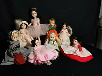 Madame Alexander , Effenbee Dolls - As is Vintage
