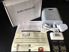 Neco Euro Receiver with alarm actuator & 2 remotes