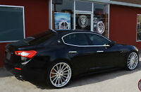 "22x9/22x10.5 Road Force RF15 Wheels Fit MASERATI GHIBLI QUATTROPORTE GT 22"" Set"