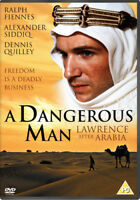 A Dangerous Man - Lawrence After Arabia DVD (2017) Ralph Fiennes, Menaul (DIR)