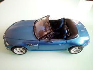 BMW Z3 M ROADSTER 1/1/8 de 1996 bleu en parfait état