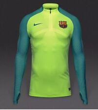 Nike Mens Barcelona Shield Strike Top Size XXL 808925 369 Ghost Green Blue