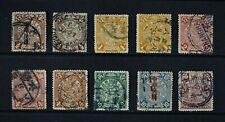 CHINA, a collection of ten (10) Dragon stamps for sorting / identification.