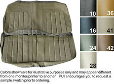1970 BUICK SKYLARK /GS-455 COUPE DELUXE REAR BENCH SEAT COVER  7 COLORS