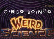 """OINGO BOINGO disco MIX 12"""" 45 giri MADE in GERMANY Weird science"""