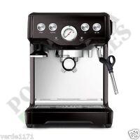 Breville Espresso Cappucino Infuser Black Sesame Coffee Machine BES840BSXL 110V