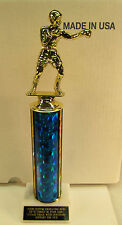"""Boxing Trophy Award 12"""" Tall Shipped 2 Day Priority Mail"""