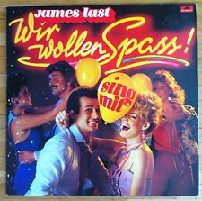 JAMES LAST Wir wollen Spass LP