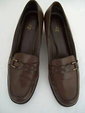 "WOMEN'S SHOES U.S. SIZE 9-1/2 MED  LEATHER LIFE STRIDE ""JIMMY"" RICH BROWN"