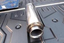 NEW JDM 5zigen border 304 muffler exhaust honda civic b16a b18c ek9 eg6 dc2 ef8