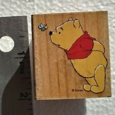 DISNEY ~ WINNIE THE POOH / BEE NOSY   ~ 997-E05 retired Rubber Stamp