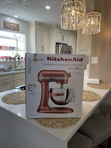 "KitchenAid Pro 600 Series ""BRAND NEW"" 6-quart Bowl-Lift Mixer -RARE COPPER PEARL"