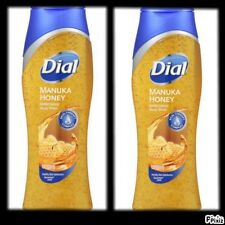 Dial Body Wash, Triple Moisture Manuca Honey more Moisturizers*16 oz (2 Bottles)