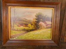 Farmhouse Magee Product Robert Wood with frame 20 x 16 outside dimensions