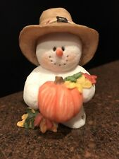 "Sarah's Attic Snowonders November 6410 ""Leif"" Thanksgiving Pilgrim Pumpkin"