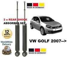 FOR VW GOLF 2007 >> 1.4 1.6 1.9 2.0 STI TDI 1K5 NEW 2x REAR SHOCKS ABSORBER SET