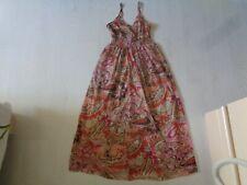 ♥  jolie longue robe en voile doublée femme taille s