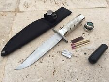 """BRAND NEW 8.5"""" Tactical Survival Combat Fishing Hunting Camping Knife w/Sheath"""