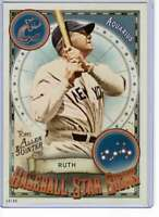 Babe Ruth 2019 Allen and Ginter Baseball Star Signs 5x7 #BSS-18 /49 Yankees