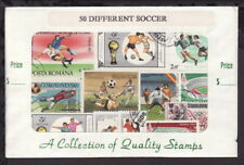 THEMATIC STAMPS SOCCER - 50DIFFERENT