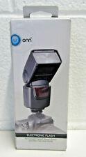 Onn ONA18CA004 Electronic Flash for DSLR Cameras (Canon, Nikon, Sony) SEALED