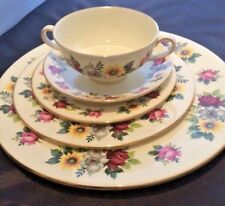 5 Piece Place Setting Vintage Royal Imperial Fine Bone China