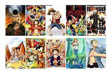 10pcs ONE PIECE Luffy/ACE/Chopper/Nami/Sanji/Zoro/Robin card stickers 5.4x8.5cm