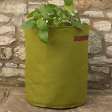 VIGOROOT 40 Litre Large Grow Bag Planter Potato Spud Tomato Growbag Plant Pot