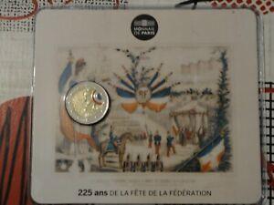 2 euro CC Commémorative BU France 2015 - FETE DE LA FEDERATION !!!