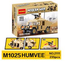 Decool Humvee - 2111 - besteht aus 235 Bausteine, für kinder ab 6 Jahre
