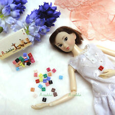 Bjd Doll Clothes Dress DIY Sewing Materials Tiny Button Square 5mm Mix Color