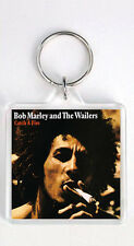 BOB MARLEY - CATCH A FIRE LP COVER KEYRING LLAVERO