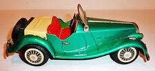 BANDAI Japanese Tin Litho Friction 1950s MG MIDGET CONVERTIBLE ~ 8-inch