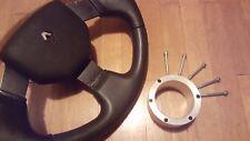 Distanziale volante Renault Clio 1° serie 3,0 cm alluminio steering wheel spacer
