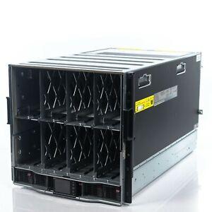 HP Proliant C7000 Chassis 16x BL460C G8 10 CORE E5-2680V2 64GB RAM 2x 120GB SSD