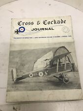 CROSS AND COCKADE USA WW1 JOURNAL VOL 9, NUMBER 1, SPRING 1968.SERBIAN AIR FORCE