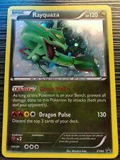 Rayquaza Holo Rare Legendary Pokemon Xy64 Dragon Black Star Promo Card - Lp