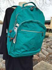 Kipling Seoul W / Laptop Holder Textbook Holder BACKPACK Paradise Green