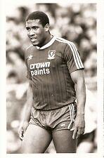 ORIGINALE stampa foto Liverpool John Barnes 1987 (25)