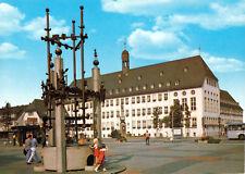 AK, Rüsselsheim am Main, Marktplatz und Rathaus, 1985