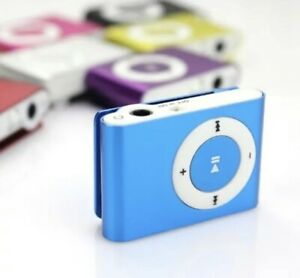 MINI MP3 MUSIC, USB, UP TO 32 GB. Has Clip On Back. Few Colors Available