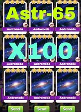 Coin Master Card 100x  Andromeda Pack Fast delivery