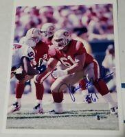 49ers Jesse Sapolu Autographed 8x10 photo w/ Beckett COA