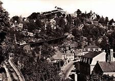 Dresden - Loschwitz , Drahtseilbahn und Luisenhof , DDR ,ungelaufene AK