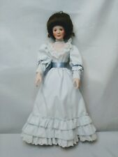 Vintage Sandra Kuck 1935 Porcelain Doll on a Stand