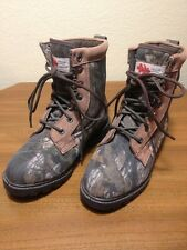Field N' Forest Camo Hunting Winter Boots Thinsulate Size Boys 4  Womens 6