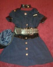 Leg Avenue Sexy  Cop Officer  Ivana Bribe Halloween Costume Sz Large Dress up